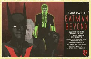Batman Beyond Ridley Scott by Hartter