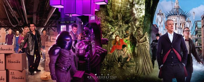 Doctor Who - Titan Comics: February 2017 covers by willbrooks