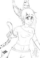Intento de furry :'D by ThePandaHomicida
