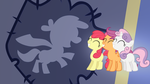 Cutie Mark Crusaders Gradient Wallpaper by RDbrony16