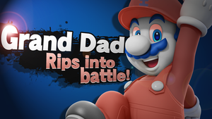 [SSB4 Splash Card] GRAND DAD by Nintato