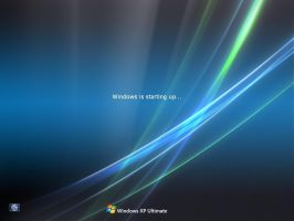 Windows XP Ultimate Logon Screen by tharunnamboothiri