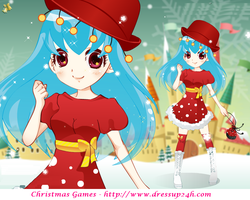 Christmas Cuties - Dress up Games by willbeyou