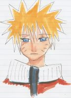 Naruto- Copic by goldenthyme