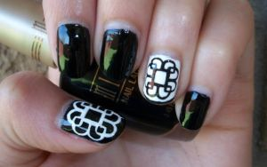Breaking Benjamin's Logo Inspired Nail Art Design by Itsbejarano