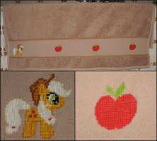MLP: Applejack Towel by Fusainne