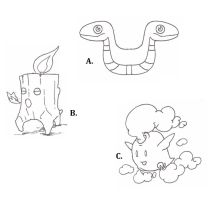 Fakemon basic forms by MetalReaper