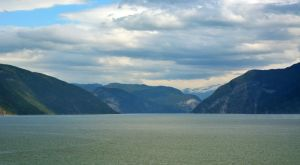 Sailing the fjords to Skjolden 40 by abelamario