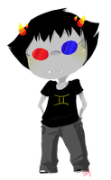 chibi Sollux by selenitis
