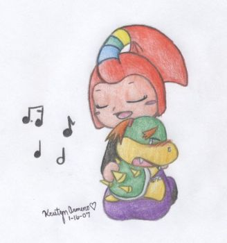 Singing Your Tears Away by PokreatiaForms