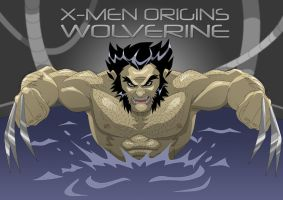 X-men Origins: Wolverine by jamce