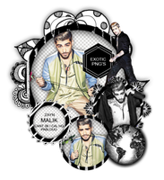Pack Png 1360 // Zayn Malik. by ExoticPngs