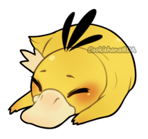 Psyduck by CookieHana