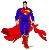 Ultimate JLA Supes Colored by Gabriel-loki