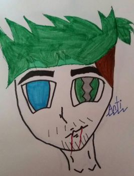 Antisepticeye  by GAMINGGLITCH