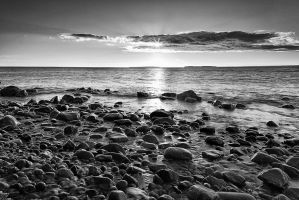St Anns Pebbles by EvaMcDermott