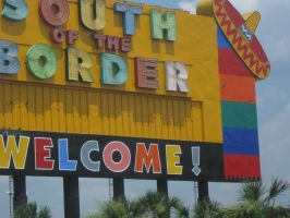 South of the Border: Welcome by Insertjoke-here