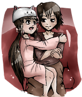 Request for *loved-too-severely -- Toeto by annikaann