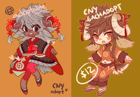 Adopts: CNY minis (closed) by mowtei