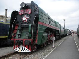 The Final Kolomna Steam Locomotive by rlkitterman