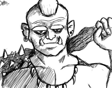 Orc by PeconeR