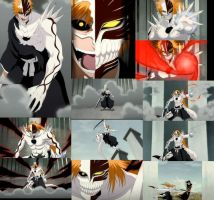 Hollow Ichigo Collage by Abyss1