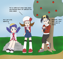 Pokemon Gold and Silver, Phone Numbers. by BlueLineProductions