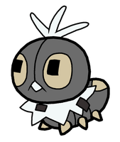 Scatterbug Pokedoll Art
