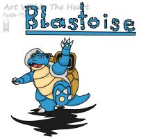 Blastoise by Faith-Bailey