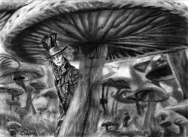 Mad as a Hatter by SchizophrenicUnicorn