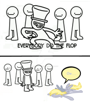 Everypony Do The Flop! by Rainbow-Lizzard