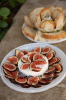Goat Cheese and Figs by froggynaan