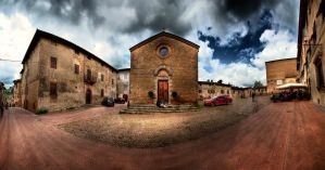san gimignano by uurthegreat