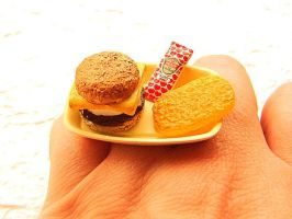 Breakfast To Go Ring by souzoucreations