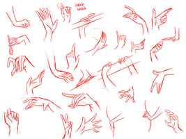Tutorial-How to draw Hands? by 1Day4Dreams