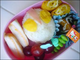 Ultraman - Food lunchbox by ivan-kun