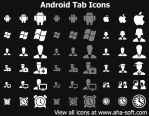 Android Tab Icons by Ikont