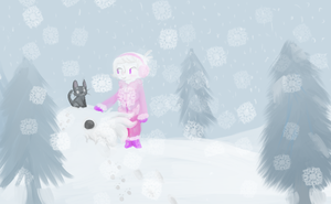 snow day by Coyotoscoping