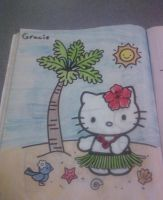 Third colored coloring page by Kittery