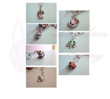 Charms On Mothers Day Bracelet by theyarnbunny