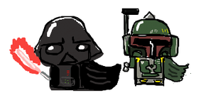Darth And Boba by kakashislover789