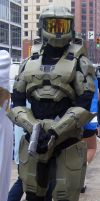 Otakon 2009 Halo cosplay by xLorrainex