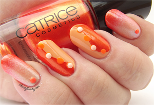 Orange Nails by Ithfifi