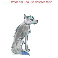What did I do to deserve this?-sketch by FireFly1800