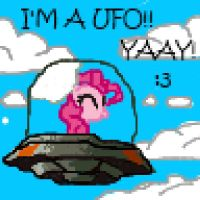 Pinkie Ufo (16 bits) by subject-Delta2