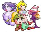 The Girls of Paper Mario by medli20