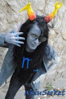 Vriska Serket Cosplay / Homestuck by akiuSerket