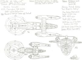 USS Farrington Freehand Study 2 by galaxy1701d