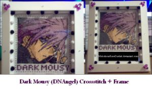 Dark Mousy Crossstitch by MelodiousRoseDuelist