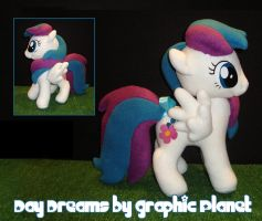 My Little Pony Blossomforth Plush by GraphicPlanetDesigns